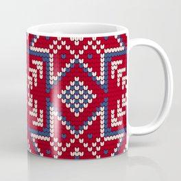 Pattern in Grandma Style #35 Coffee Mug