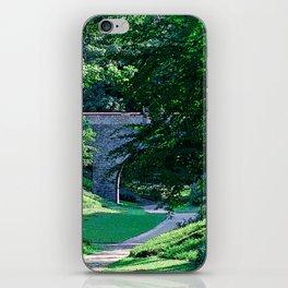 green oasis iPhone Skin