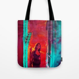 Colorblind Doorways Tote Bag