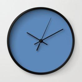 Silver Lake blue Wall Clock