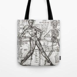 Clone Death - Intaglio / Printmaking Tote Bag