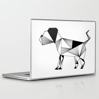 the hound Laptop & iPad Skins featuring Hound by Line H H