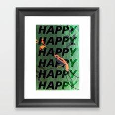 Happy Happy Happy Framed Art Print