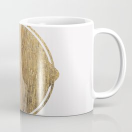 Gold Squircle Coffee Mug
