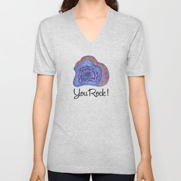 Geode - You Rock! Unisex V-Neck