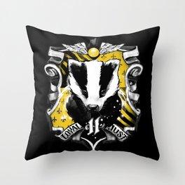 Hufflepuff Daddy Throw Pillow