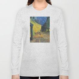 Vincent van Gogh - Cafe Terrace at Night Long Sleeve T-shirt