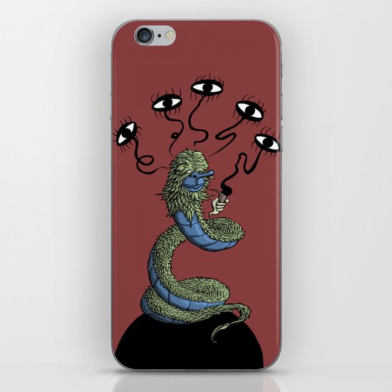 Think Worm iPhone & iPod Skin