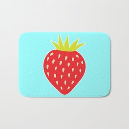 Strawberry No. 1 Bath Mat