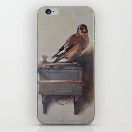 The Goldfinch iPhone Skin