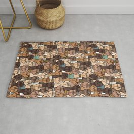 stand up - stand together Rug