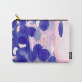GLAM CIRCLES #Soft Pink/Blue #1 Carry-All Pouch
