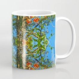 Flower Pattern No. 4 (Tiger Lilies) Coffee Mug