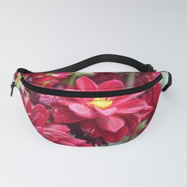 Blooming Red: Imperfectly Perfect Fanny Pack