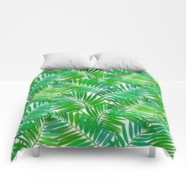 green leafs cool modern home trends Comforters