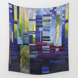 Abstract One Wall Tapestry