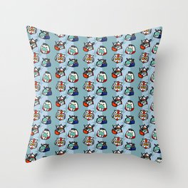 0079 Feds Throw Pillow