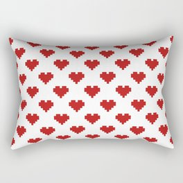Love Pattern Rectangular Pillow
