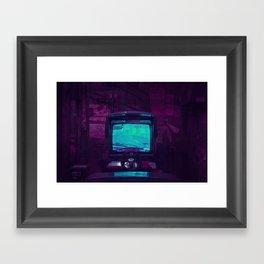 Tokyo Nights / Retro Arcade / Liam Wong Framed Art Print