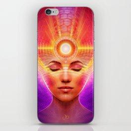 Mind Molecular Congruence iPhone Skin