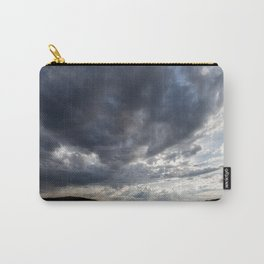 Dark Clouds Coming Over Lake In Scandinavia Carry-All Pouch