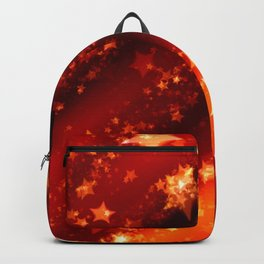 Christmas and Golden Stars Backpack