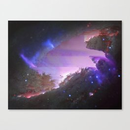 NGC 4258 (also known as M106) Canvas Print