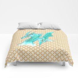 Dragon Blue Comforters