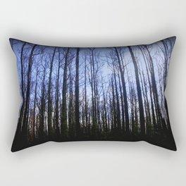 The aftermath of destruction & beauty of Nature Rectangular Pillow