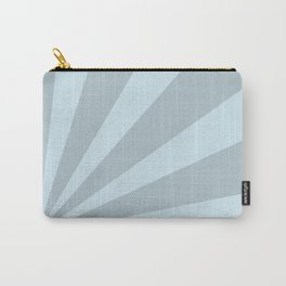 Retro sunburst style abstract background Carry-All Pouch