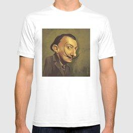 SALVADOR DALI ROYAL CARICATURE T-shirt