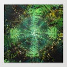 Botanic Mandala II Canvas Print