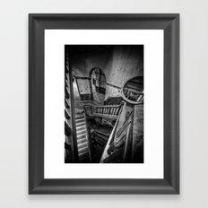 Never Ending Stairs Framed Art Print