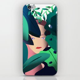 Woman in the Jungle iPhone Skin