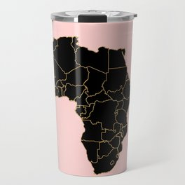 Africa map Travel Mug