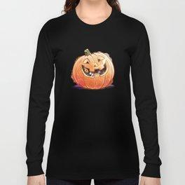 Pumpkin Spice Kitty Long Sleeve T-shirt