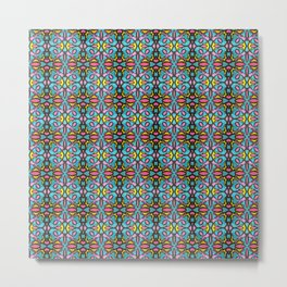 Elegant Highlighter Pattern 1 Metal Print