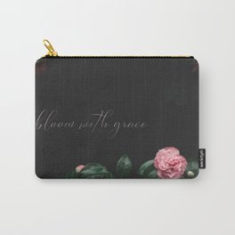 bloom with grace Carry-All Pouch