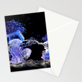 Mushroom Hookah Stationery Cards