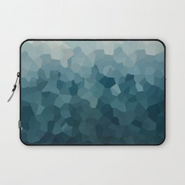 Ice Blue Mountains Moon Love Laptop Sleeve