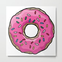 DONUT STYLE Metal Print