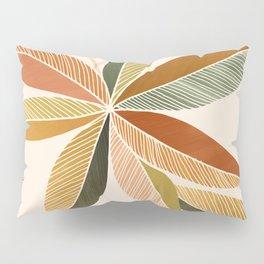 Autumn Japanese Maple / Botanical Design Pillow Sham
