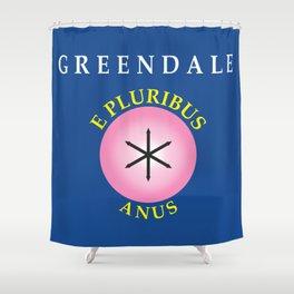 E Pluribus Anus Shower Curtain