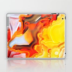 Earth's Fantasy, from the Lithosphere emerges Beauty - Agate Laptop & iPad Skin