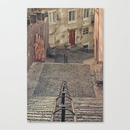 Alfama, Lisbon. Canvas Print