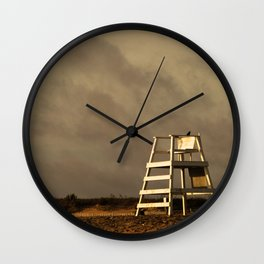 Waiting on the morning to begin Wall Clock