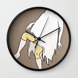 Dancing Girl Ghost Wall Clock