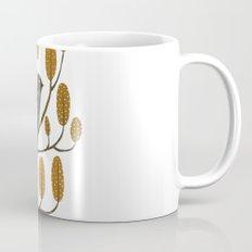 Swallow - golden brown Mug