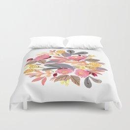 Winter Floral Duvet Cover