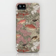 Fishes & Flowers - Seamless pattern Slim Case iPhone (5, 5s)